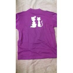T-Shirt Hund/Katz  beidseitig